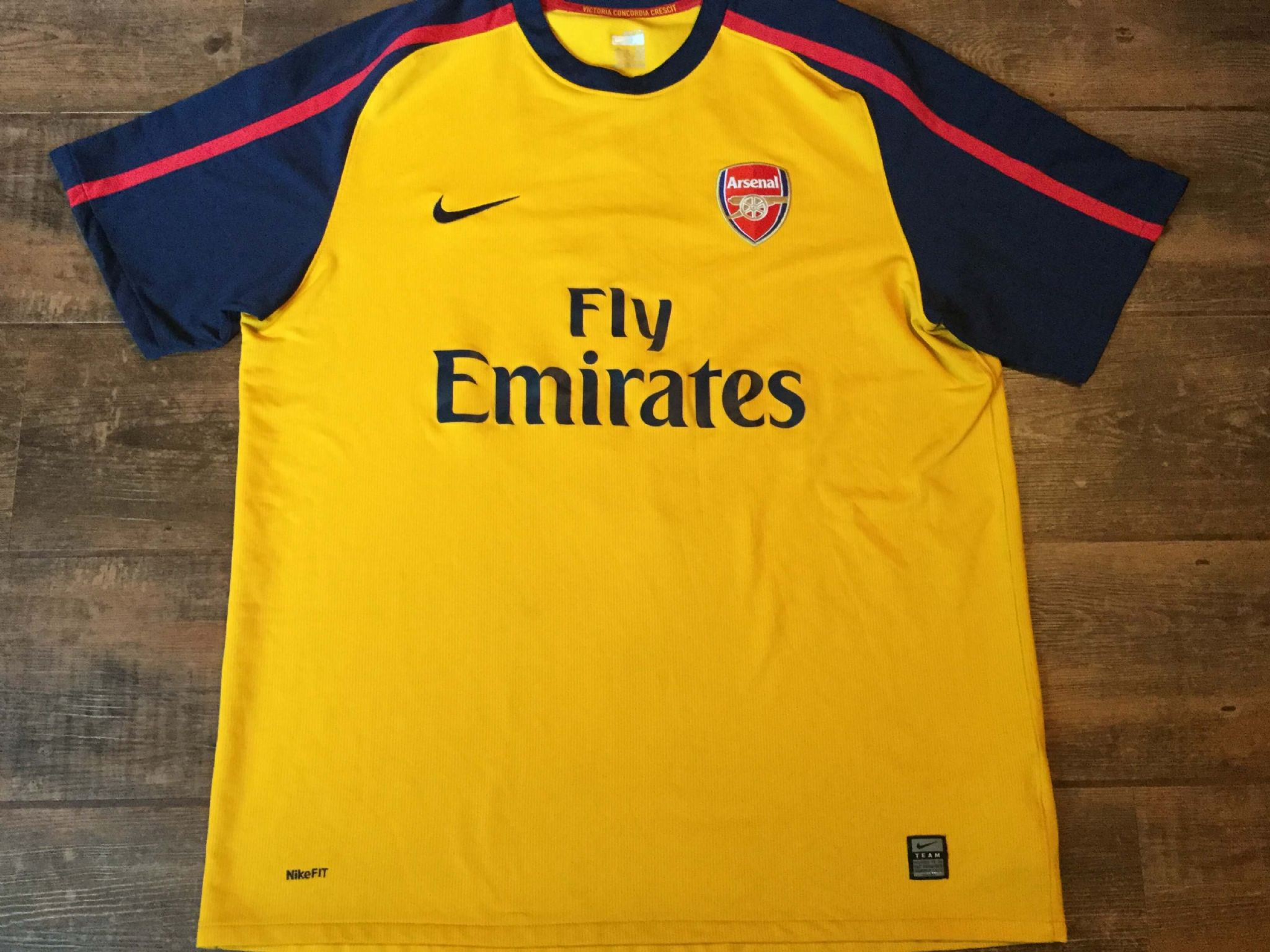 half off 445f8 5f900 Global Classic Football Shirts | 2008 Arsenal Vintage Old ...